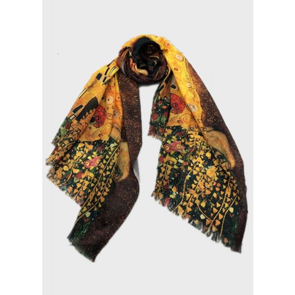 Digital Print Cotton Scarf TTPC08