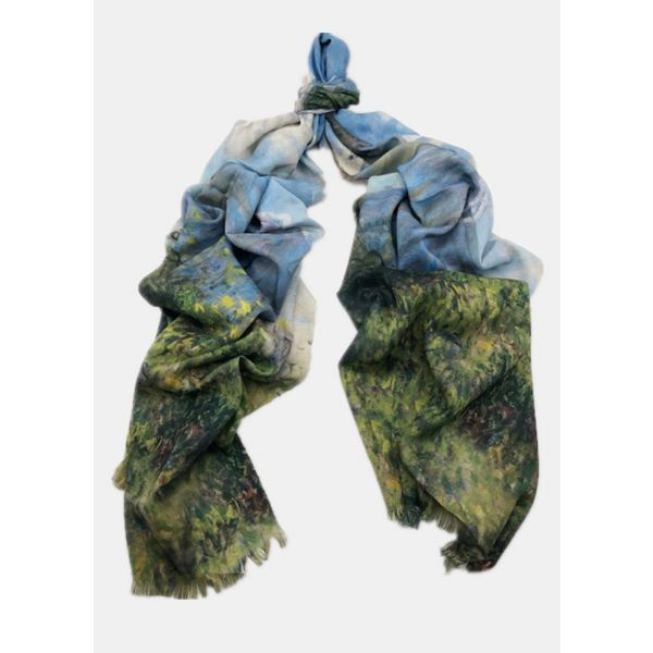 Digital Print Cotton Scarf TTPC15