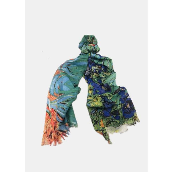 Digital Print Cotton Scarf TTPC26